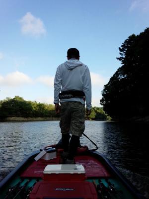 2014.08.20.亀山湖 バス釣り おりきさわ