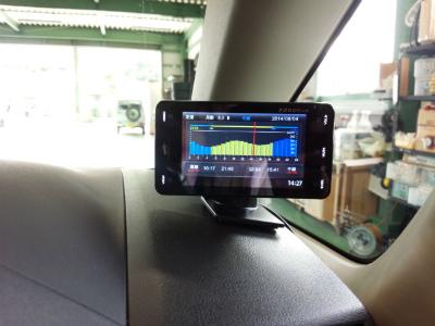 東京都青梅市T様 デリカD5 ロイヤルエクシード クリーンディーゼル YUPITERU レーダー探知機 Z250Csd 取付