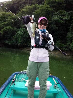 2014.9.3.亀山湖バス釣り ブリッツMR 長崎 おりきさわ
