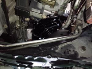 あきる野市A様 S15 シルビア spec R NISMO 強化エンジンマウント交換作業