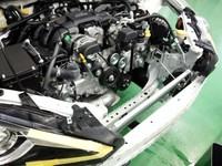 羽村市Rmc ZN6 86 HPI EVOLVE MULTI FLOW ダブルターン ハイスペック アルミラジエーター取付