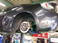 日の出町O様 ZN6 86 TEIN MONO SPORT 車高調取付 フルタップ 単筒式