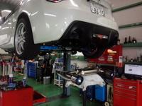 羽村市Rmc ZN6 86 FUJITSUBO AUTHORIZE R type S BG FGK 車検対応マフラー取付