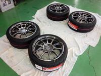 立川市A様 ZC32S スイフトスポーツ ADVAN Racing RZⅡ G'ZOXホイールコーティング施工