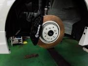 羽村市Rmc ZN6 86 brembo ブレーキキャリパーOH 取付 DIXCEL FP ローター GDB 326mm