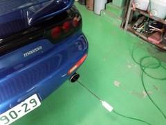 青梅市Y様 弊社販売車 H13 6型 FD3S RX-7 車検整備作業