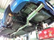日の出町O様 弊社販売車 GDB インプレッサWRX STI FUJITSUBO RM01A 競技車両向け マフラー取付