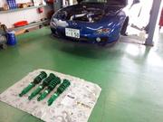 狛江市O様 FD3S RX-7 TEIN MONO SPORT 車高調取付