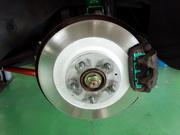 狛江市O様 FD3S RX-7 PMU HC+ 0℃~800℃対応 ブレーキパッド交換作業