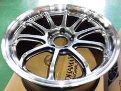 NEWデモカー VAB WRX STI 情報!ADVAN Racing RS-DF PROGRESSIVE 9.5J-18&9.0J-18 M&HRB 購入