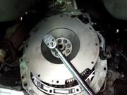 羽村市Y様 S15 NISMO 軽量フライホイール 純正クラッチディスク&カバー交換作業