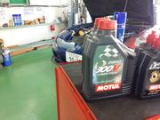 青梅市Y様 FD3S RX-7 オイル交換 MOTUL 300V COMPETITION 15W50 ¥3600-/1L税抜き