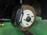 足立区M様 S15 シルビア spec R ER34キャリパー取付 DIXCEL FP 310mm 耐熱ローター取付