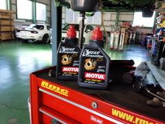 青梅市Y様 FD3S RX-7 デフオイル交換 MOTUL Gear COMPETITION 75W140 ¥5600/1L税抜き