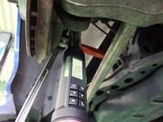 小平市W様 FD3S RX-7 スーパーナウ製 トーコンアッパー&ロアリンク交換作業 アライメント調整
