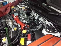 デモカーVAB WRX STI STI Gr.N用 強化ミッションマウント&強化ピッチングストッパー取付