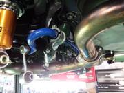 デモカーVAB WRX STI CUSCO リア強化スタビライザー取付