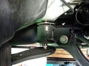デモカーVAB WRX STI PROVA リジカラ リアクロスメンバーカラー取付作業