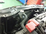 小平市H様 ZC32S スイフトスポーツ DRL DAIWA RACING LABO ラジエーター取付 アルミレーシングラジエーター