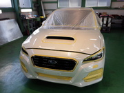羽村市T様 新車 VM4 LEVORG G'ZOXリアルガラスコート施工 ボディガラスコーティング