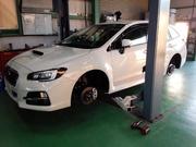 羽村市T様 新車 VM4 LEVORG G'ZOXホイールコーティング施工