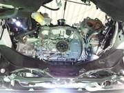 デモカーVAB WRX STI EXEDY カーボンD カーボンツイン クラッチキット取付 CUSCO LSD spec-F フロントデフ取付