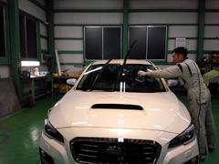 羽村市T様 新車 VM4 LEVORG G'ZOXハイパービューウインドウ撥水コーティング施工