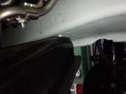 デモカーVAB WRX STI PROVA リジカラ クロスメンバーカラー取付作業