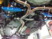 デモカーVAB WRX STI CUSCO リアトレーリングロッド 取付 ¥35000-税別工賃別