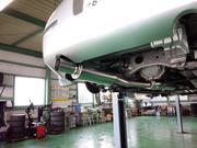 昭島市H様 Z33 フェアレディZ FGK パワーゲッター 車検対応マフラー FGK フロントパイプ 取付