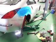 昭島市H様 Z33 フェアレディZ TEIN MONO SPORT 車高調キット取付