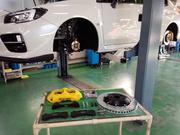 デモカーVAB WRX STI brembo GT KIT MONOBLOCK F/6POT 355mm/2P R/4POT 345mm/2P イエロー フルキット取付