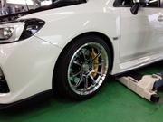 デモカーVAB brembo GT KIT MONOBLOCK F/6POT 355mm/2P R/4POT 345mm/2P イエロー 取付