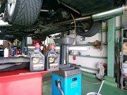 府中市N様 弊社販売車FD3S RX-7 V型 法定12か月点検整備 MOTUL GAER COMPETITION 75W140デフオイル交換