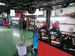 府中市N様 弊社販売車FD3S RX-7 法定12か月点検整備 MOTUL GAER 300LS 75W90ミッションオイル交換