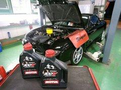 府中市N様 弊社販売車FD3S RX-7 法定12か月点検整備 MOTUL 300V COMPETITION 15W50 エンジンオイル交換