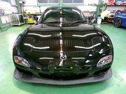 府中市N様 弊社販売車FD3S RX-7 V型 G'ZOXリアルガラスコート施工