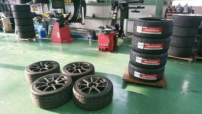 狛江市O様 FD3S RX-7 車検整備 タイヤ交換 BRIDGESTONE POTENZA RE-71R 245/40R17 255/40R17 新品交換