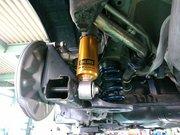 小平市H様 ZC32S スイフトスポーツ Rmcオリジナル OHLINS DFV VersionRz: HYPERCO+PERCH仕様 車高調取付