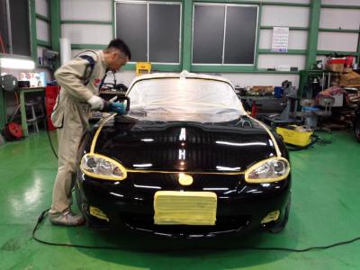 東京都青梅市T様 弊社販売車 H10 NA8C ロードスター スパークプラグ交換