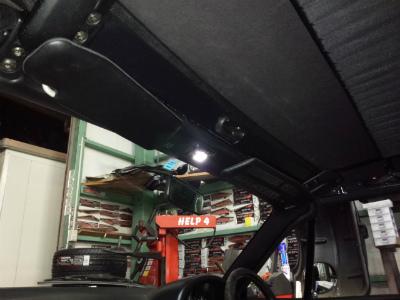 東京都青梅市T様 弊社販売車 H10 NA8C ロードスター ライセンスランプ ポジションランプ LED交換