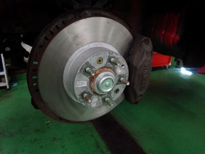 千葉県流山市Y様 弊社販売車 H7 RX-7 FD3S 3型 ローター研磨加工 PMU HC+ パッド交換