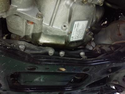 東京都小平市K様 RX-7 FD3S エンジンオイル漏れ修理 ステーショナリーギア