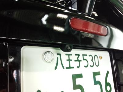 東京都青梅市T様 弊社販売車 NA8C ロードスター ECLIPSE AVN134M メモリーナビ BEC113 バックカメラ取付